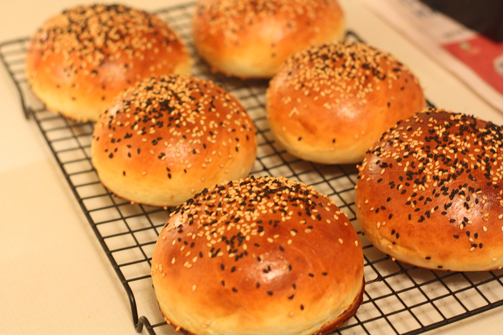 ألذ خبز برجر في العالم !! .. Burger Buns | مدونة توب شيف ... Top Chef