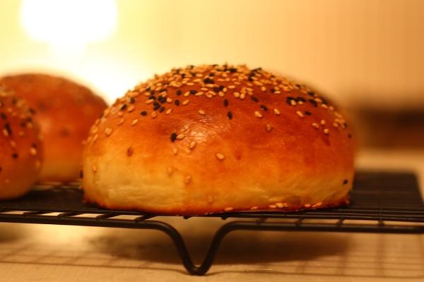خبز برجر