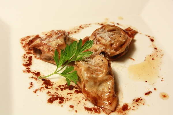 chicken liver tortillini