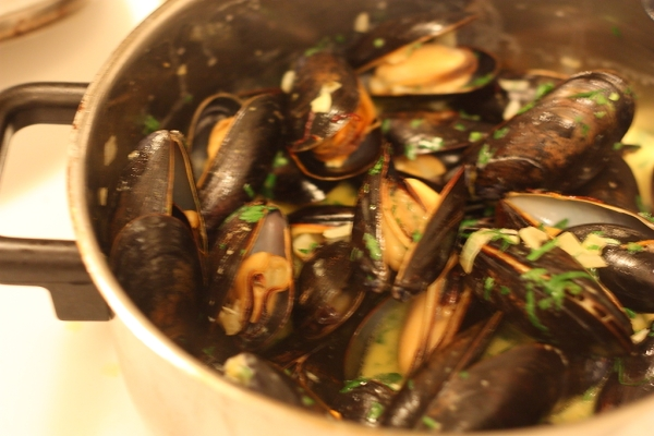 spanish mussels