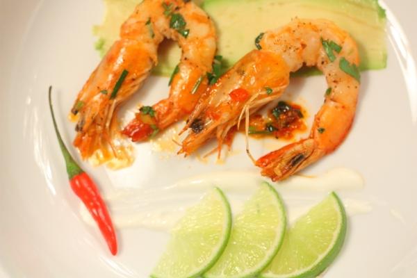 peri peri shrimp