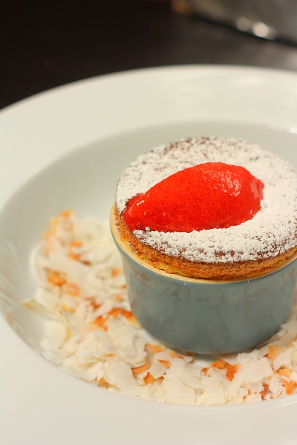 passion fruit souffle