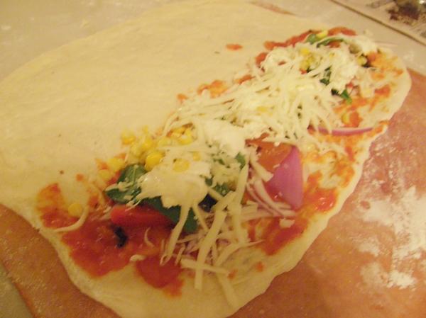 Vegetable Calzone